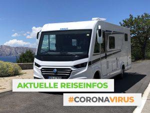 Coronavirus - Aktuelle Reiseinfos