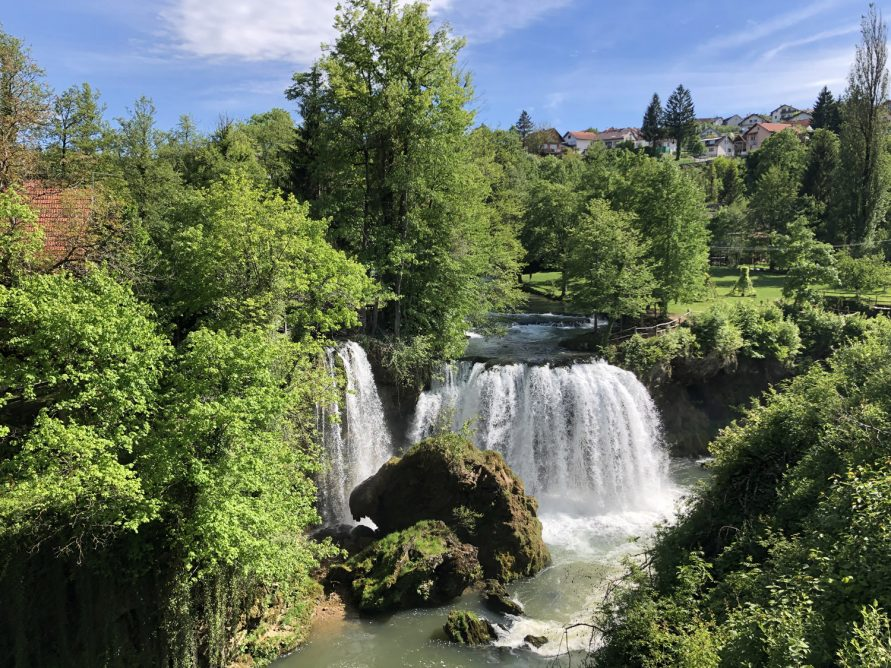 Rastoke Wasserfälle in Slunj